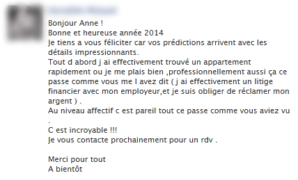 commentaire anne voyance