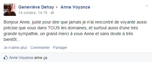 anne voyance commentaire FB