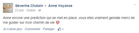 anne voyance commentaire FB#2